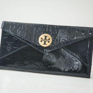 BRAND NEW - Tori Burch Navy Travel Wallet
